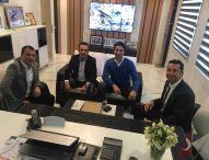 Aymer Yapı Mehmet Uslu' yu ziyaret